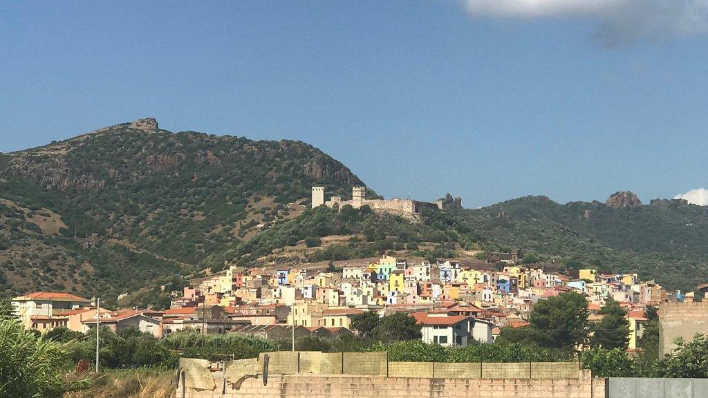 Bosa, Sardinien
